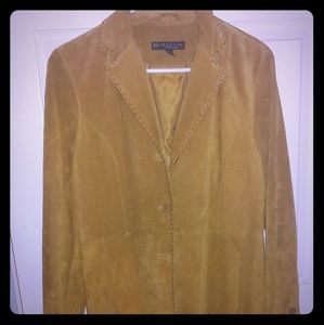 Suede jacket, closet kept